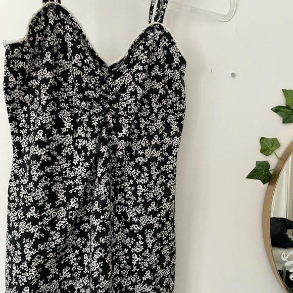 Garage floral mini dress